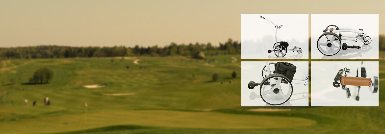 Eldriven golfvagn